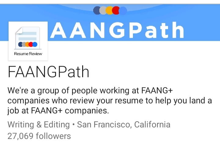 FAANGPath's official LinkedIn page